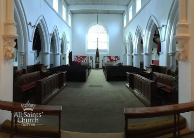 All Saints Looking west
