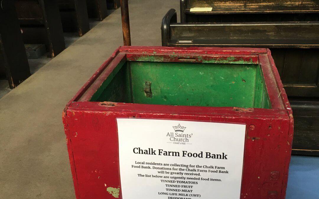 Chalk Farm Foodbank Collection