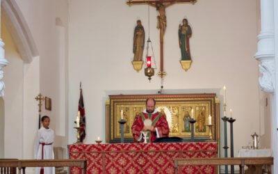 Intinction at Holy Communion